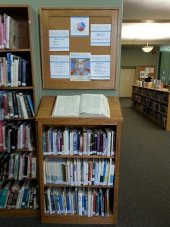 The new hospice resources on the top floor of the Fernie Heritage Library